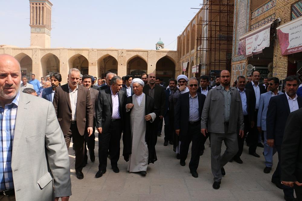 هاشمی در کرمان
